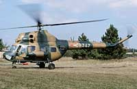 Helicopter-DataBase Photo ID:2408 PZL Mi-2 Hungarian Air Force 8347 cn:518347103