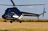 Helicopter-DataBase Photo ID:2991 PZL Mi-2 Hungarian Police R-14 cn:536120059