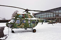 Helicopter-DataBase Photo ID:14259 PZL Mi-2 Lithuanian aviation museum 04 yellow cn:562646112