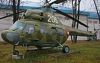 Helicopter-DataBase Photo ID:2131 PZL Mi-2 Museum Sofia - Military Academy 205 cn:563109093