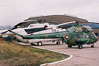 Helicopter-DataBase Photo ID:10521 PZL Mi-2 44th Helicopter Regiment 215 cn:519047025