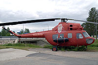 Helicopter-DataBase Photo ID:13283 PZL Mi-2 private Hyrynsalmi