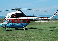 Helicopter-DataBase Photo ID:2195 PZL Mi-2 Tatra Air Group OK-PIQ cn:529310065