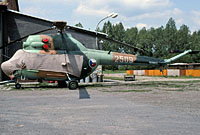Helicopter-DataBase Photo ID:3706 PZL Mi-2 1st Command and Reconnaissance Squadron 2509 cn:532509072