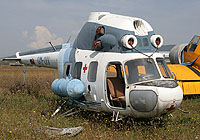 Helicopter-DataBase Photo ID:4496 PZL Mi-2 Historic Aircraft Collection OM-OIV cn:528603034