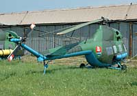 Helicopter-DataBase Photo ID:2374 PZL Mi-2 Museum of Aviation and Transport 7738 cn:517738072