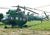 Helicopter-DataBase Photo ID:2375 PZL Mi-2 Museum of Aviation and Transport 7738 cn:517738072