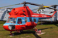 Helicopter-DataBase Photo ID:16387 PZL Mi-2 Museum Monino RA-20869 cn:528230063