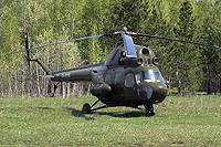 Helicopter-DataBase Photo ID:16054 PZL Mi-2 unknown RA-3119G