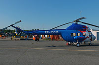 Helicopter-DataBase Photo ID:16427 PZL Mi-2 TsSK VVS RF-15311 cn:5410143037