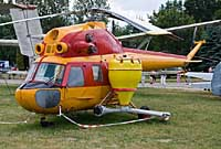 Helicopter-DataBase Photo ID:2661 PZL Mi-2 Polish Aviation Museum  cn:512617092