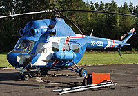 Helicopter-DataBase Photo ID:4056 PZL Mi-2 Heliseco SP-SES cn:5210018116