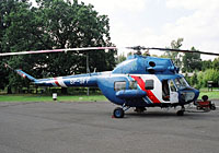 Helicopter-DataBase Photo ID:3376 PZL Mi-2 Heliseco SP-SFF cn:5210008106