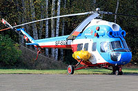 Helicopter-DataBase Photo ID:10690 PZL Mi-2plus Heliseco SP-SGN cn:5210436069