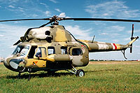 Helicopter-DataBase Photo ID:13596 PZL Mi-2 42nd Transport-Liaison Aviation Squadron 0543 cn:510543117