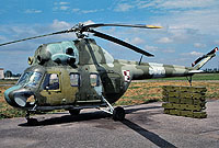 Helicopter-DataBase Photo ID:4844 PZL Mi-2 PLATAN 49th Combat Helicopter Regiment 0609 cn:510609018