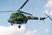 Helicopter-DataBase Photo ID:13598 PZL Mi-2 103rd Aviation Regiment 2539 cn:512539082