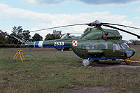 Helicopter-DataBase Photo ID:16145 PZL Mi-2 103rd Aviation Regiment 2539 cn:512539082