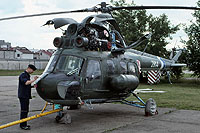 Helicopter-DataBase Photo ID:16142 PZL Mi-2P 103rd Aviation Regiment 2814 cn:532814023