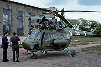 Helicopter-DataBase Photo ID:16143 PZL Mi-2P 103rd Aviation Regiment 2815 cn:532815023