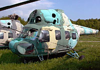 Helicopter-DataBase Photo ID:3170 PZL Mi-2 13th Transport Aviation Squadron 3001 cn:543001063