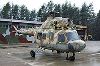 "Helicopter-DataBase Photo ID:17622 PZL Mi-2 Museum of Military Technology ""Gryf""  cn:513720084"
