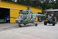 "Helicopter-DataBase Photo ID:17623 PZL Mi-2 Museum of Military Technology ""Gryf""  cn:513720084"