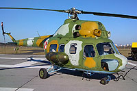 Helicopter-DataBase Photo ID:7406 PZL Mi-2RL 2nd Air Transport and Liaison Squadron 4507 cn:554507115