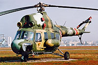 Helicopter-DataBase Photo ID:13597 PZL Mi-2RL 42nd Transport-Liaison Aviation Squadron 4509 cn:554509115