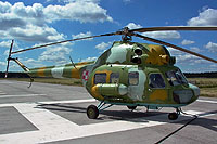 Helicopter-DataBase Photo ID:17860 PZL Mi-2RL 2nd Air Transport and Liaison Squadron 4510 cn:554510125