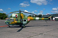 Helicopter-DataBase Photo ID:17862 PZL Mi-2RL 2nd Air Transport and Liaison Squadron 4513 cn:554513125