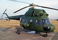 Helicopter-DataBase Photo ID:7520 PZL Mi-2P (modernized NVG) 56th Combat Helicopters Regiment 4708 cn:534708036