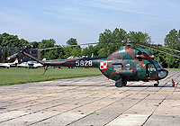 Helicopter-DataBase Photo ID:3853 PZL Mi-2 1st Aviation Training Centre 5828 cn:515828108