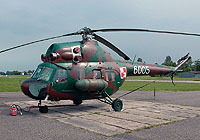 Helicopter-DataBase Photo ID:4103 PZL Mi-2Ch 49th Combat Helicopter Regiment 6005 cn:516005039