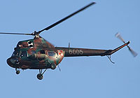 Helicopter-DataBase Photo ID:5719 PZL Mi-2Ch 49th Combat Helicopter Regiment 6005 cn:516005039