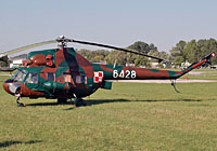 Helicopter-DataBase Photo ID:3717 PZL Mi-2R 56th Combat Helicopters Regiment 6428 cn:566428129