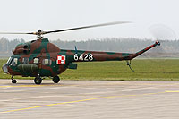 Helicopter-DataBase Photo ID:12328 PZL Mi-2R 43rd Naval Air Base 6428 cn:566428129