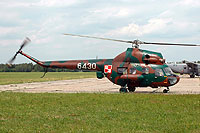 Helicopter-DataBase Photo ID:2409 PZL Mi-2R 56th Combat Helicopters Regiment 6430 cn:566430129
