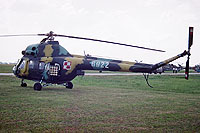 Helicopter-DataBase Photo ID:17346 PZL Mi-2 PLATAN 56th Combat Helicopters Regiment 6922 cn:566922110