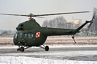 Helicopter-DataBase Photo ID:10590 PZL Mi-2URPG (modernized NVG) 56th Combat Helicopters Regiment 7340 cn:567340012