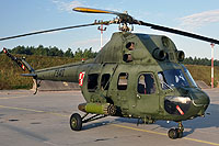 Helicopter-DataBase Photo ID:8387 PZL Mi-2URPG (modernized NVG) 56th Army Aviation Base 7340 cn:567340012