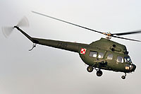 Helicopter-DataBase Photo ID:10589 PZL Mi-2URPG (modernized NVG) 56th Combat Helicopters Regiment 7340 cn:567340012