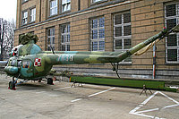 Helicopter-DataBase Photo ID:2685 PZL Mi-2Ch Wroclaw University of Technology 7839 cn:517839102