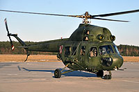 Helicopter-DataBase Photo ID:14467 PZL Mi-2URPG (modernized NVG) 56th Army Aviation Base 7840 cn:567840112