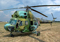 Helicopter-DataBase Photo ID:4045 PZL Mi-2URPG 56th Combat Helicopters Regiment 8220 cn:568220063