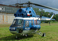 Helicopter-DataBase Photo ID:4629 PZL Mi-2 State Police Aviation SN-05XP cn:541918051