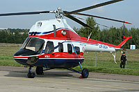 Helicopter-DataBase Photo ID:9583 MSB Mi-2MSB modified Motor Sich UR-MSA