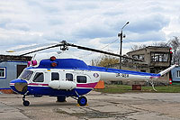 Helicopter-DataBase Photo ID:13883 PZL Mi-2 Motor Sich UR-MSM cn:5210001106