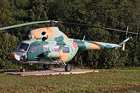 Helicopter-DataBase Photo ID:12389 PZL Mi-2 Latvian Air Force 155 cn:533917124