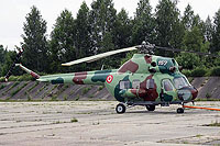 Helicopter-DataBase Photo ID:6292 PZL Mi-2 Latvian Air Force 157 cn:529221055